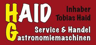 HAID Gastronomiemaschinen Service und Handel